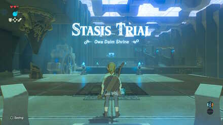 Breath of the Wild - Owa Daim Shrine and Stasis Trial