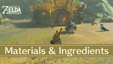 Breath of the Wild Creature Ingredients