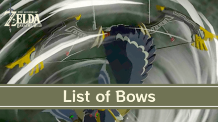 Breath of the Wild Bows