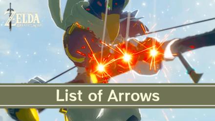 Breath of the Wild Arrows