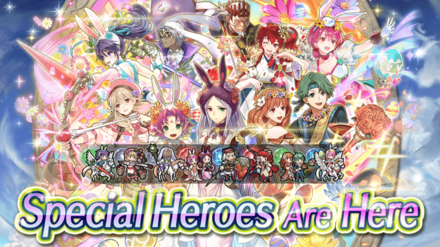 Double Special Heroes (August 2020) Banner