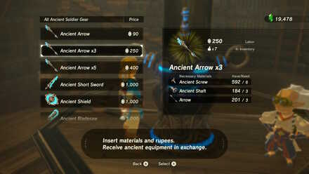Ancient Arrow x 3 Purchase
