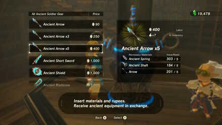 Ancient Arrow x 5 Purchase