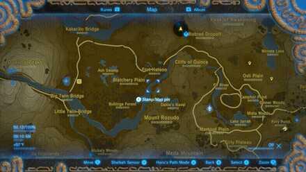 Blatchery Plain Map