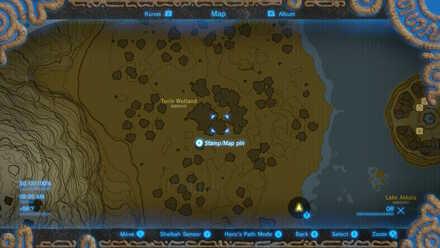 Torin Wetland Map
