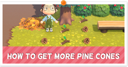 Animal Crossing New Horizons (ACNH) Get Pine Cones