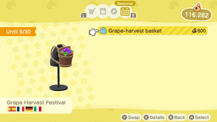 Animal Crossing New Horizons (ACNH) Grape-Harvest Basket.png