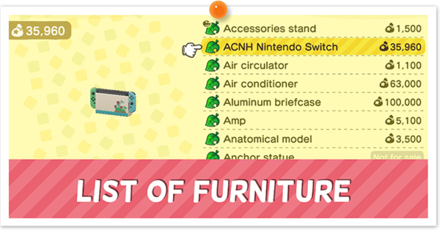 Animal Crossing New Horizons (ACNH) Furniture List.png