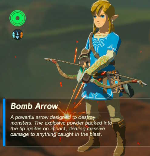 How To Get More Bomb Arrows Arrow Farming Guide Zelda Breath Of The Wild Botw Game8