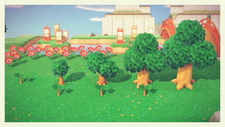 Animal Crossing New Horizons (ACNH) Tree Growth Stages