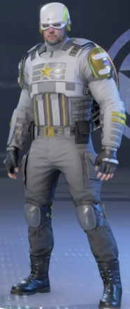 Captain America Obsidian Outfit