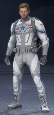 Captain America Artic Commander
