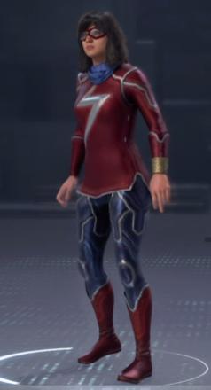 Ms. Marvel Battle Suit