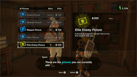 The Legend of Zelda (BotW) Purchasing photos from Symin.png