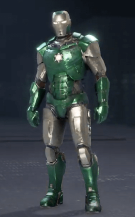 Iron Man Emerald