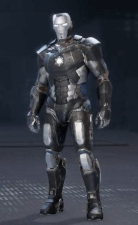 Iron Man Gunmetal