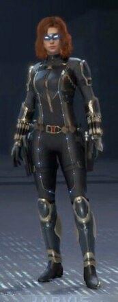 Black Widow Stark Tech
