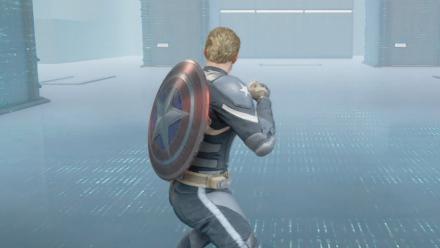 HARM Training Captain America