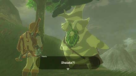 The Legend of Zelda Breath of the Wild (BotW) Meeting Hestu.jpg