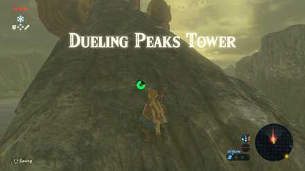 The Legend of Zelda Breath of the Wild (BotW) Climbing Dueling Peaks Tower.jpg