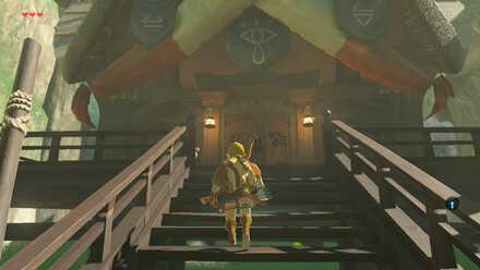 The Legend of Zelda Breath of the Wild (BotW) Reaching Impa