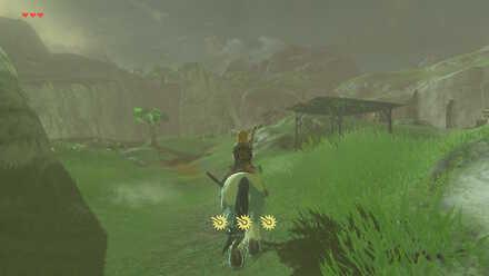 The Legend of Zelda Breath of the Wild (BotW) Going to Hateno Village.jpg