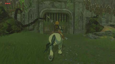The Legend of Zelda Breath of the Wild (BotW) Reaching Fort Hateno.jpg