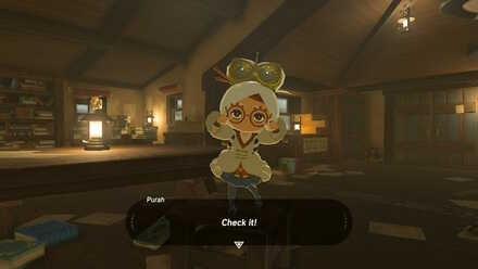 The Legend of Zelda Breath of the Wild (BotW) Meeting Purah.jpg