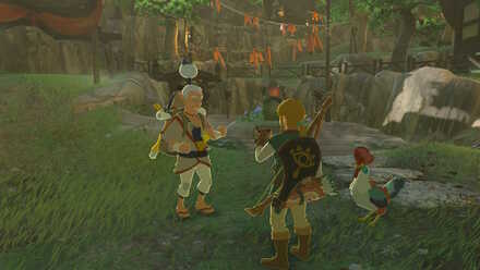 The Legend of Zelda Breath of the Wild (BotW) Showing the photo to Pikango.jpg