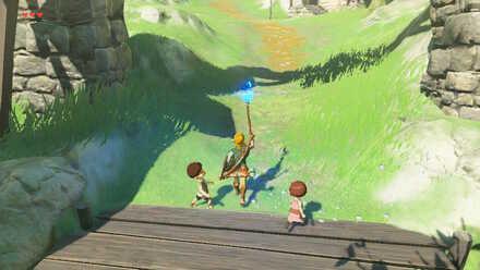 The Legend of Zelda Breath of the Wild (BotW) Lighting Up Hateno Village Lanterns.jpg