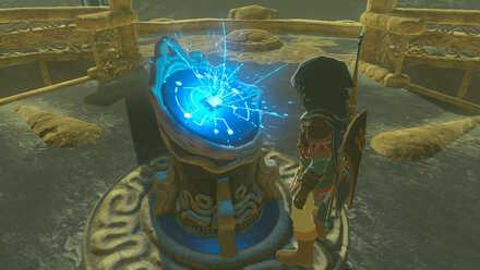 The Legend of Zelda Breath of the Wild (BotW) Activating Lanayru Tower