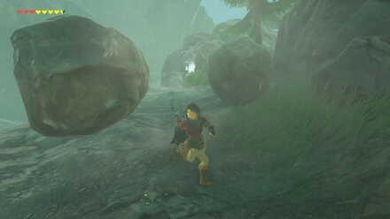 The Legend of Zelda Breath of the Wild (BotW) Falling Rocks.jpg
