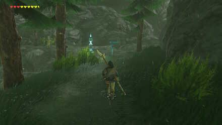 The Legend of Zelda Breath of the Wild (BotW) Path to Zora