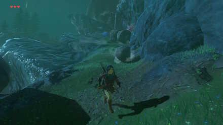 The Legend of Zelda Breath of the Wild (BotW) Falling Rocks 2.jpg