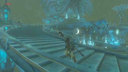 The Legend of Zelda Breath of the Wild (BotW) Going to the Zora Throne Room.jpg