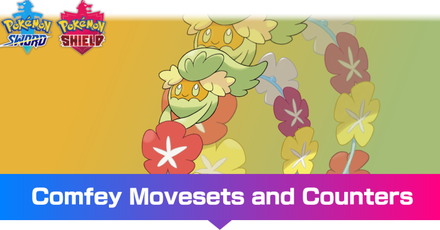Comfey - Movesets and Counters