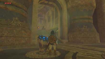 The Legend of Zelda Breath of the Wild (BotW) Divine Beast Vah Ruta Entrance.jpg