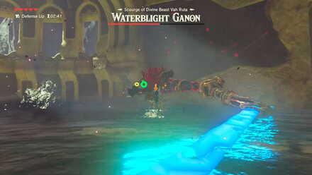 The Legend of Zelda Breath of the Wild (BotW) Waterblight Ganon Spear Swipe.jpg