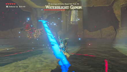 The Legend of Zelda Breath of the Wild (BotW) Waterblight Ganon Spear Throw.jpg