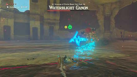 The Legend of Zelda Breath of the Wild (BotW) Waterblight Ganon Spear Thrust.jpg