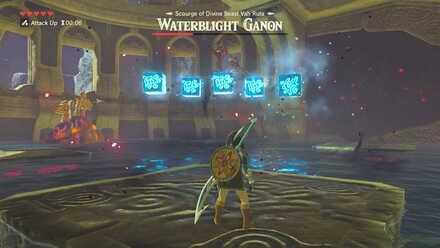 The Legend of Zelda Breath of the Wild (BotW) Waterblight Ganon Multiple Ice Blocks.jpg
