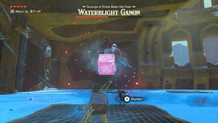 The Legend of Zelda Breath of the Wild (BotW) Waterblight Ganon Ice Block.jpg