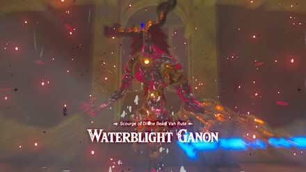 The Legend of Zelda Breath of the Wild (BotW) Waterblight Ganon