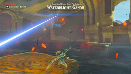 The Legend of Zelda Breath of the Wild (BotW) Waterblight Ganon Laser.jpg