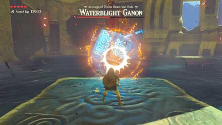 The Legend of Zelda Breath of the Wild (BotW) Using Stasis on Ice Block