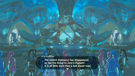 The Legend of Zelda Breath of the Wild (BotW) Reporting Back to King Dorephan.jpg