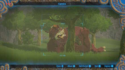 The Legend of Zelda Breath of the Wild (BotW) Hinox Registered to Compendium.jpg