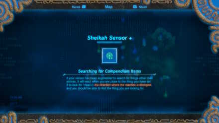 The Legend of Zelda Breath of the Wild (BotW) Sheikah Sensor+ Upgrade.jpg