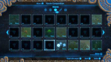 The Legend of Zelda Breath of the Wild (BotW) Incomplete Hyrule Compendium.jpg