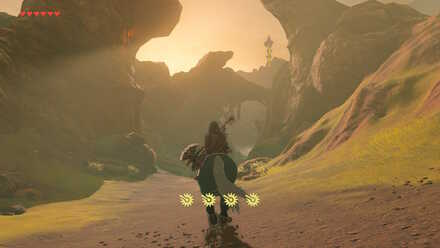 The Legend of Zelda Breath of the Wild (BotW) Entering the Maw of Death Mountain
